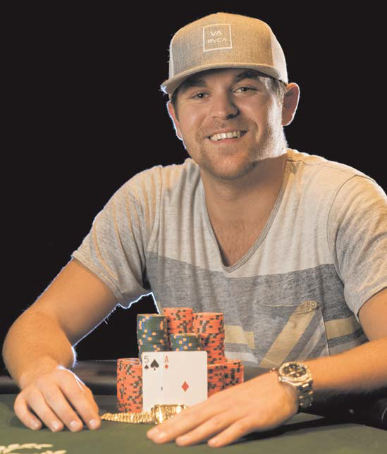 Marco Johnson winner of event #48 at the 2013 WSOP.