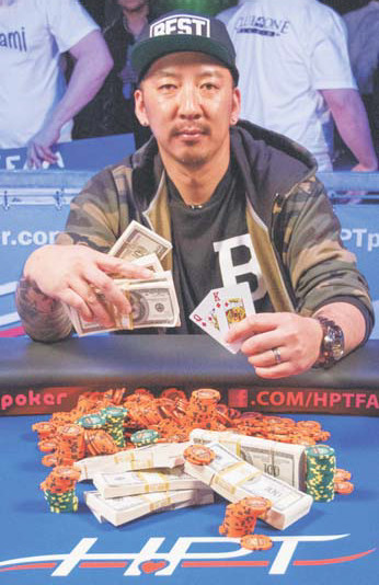 Joe Nguyen of San Jose took first place and $74,754 in the HPT's Main Event at Fresno's Club One Casino.