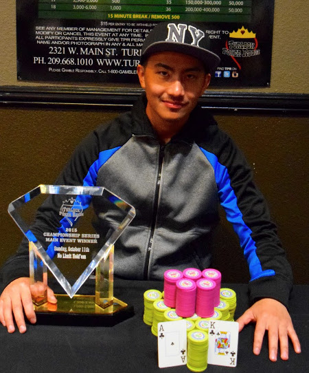 Xiong Wins Main Event at Turlock