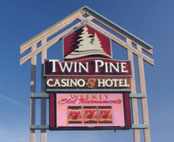 twin pines casino valley fire
